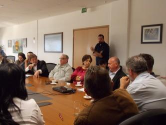 Vereadores participam de reunião sobre Hospital Centenário