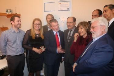 Vereador Arthur Schmidt se reúne com governador Sartori