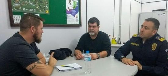 Dudu Moraes se reúne com secretário Sant'Ana para discutir a segurança nas escolas e na rodoviária