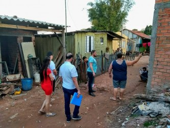Vereador Dudu Moraes percorre Vila Justo para conhecer de perto a realidade dos moradores