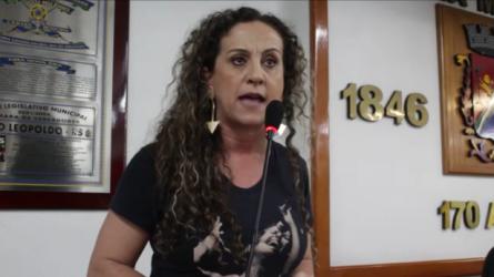 Ana Affonso critica oposição pelos contratos com a empresa JOB e questiona o fato da empresa ter sido contratada, apesar das denúncias no Ministério Público por indícios de fraude
