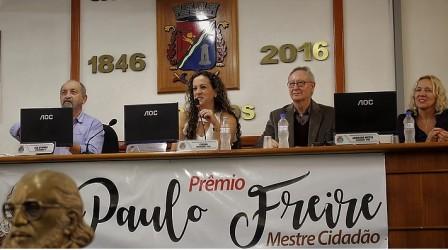 Inscrições ao Prêmio Paulo Freire foram prorrogadas até o dia 29 de setembro