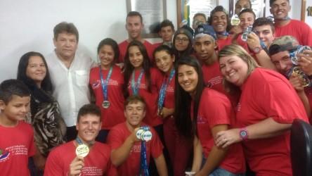 Ary Moura destaca vitórias obtidas pela equipe de canoagem de São Leopoldo