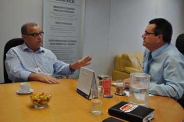 Diretor-presidente do Detran promete mudanças no CRVA de São Leopoldo