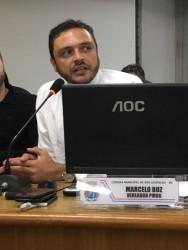 Marcelo Buz comemora aprovação de  projetos contra pichação