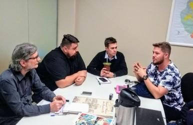 Vereador Dudu Moraes se reúne com Sedetec e Semmam para discutir o programa das hortas comunitárias