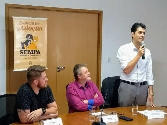 Dudu Moraes acompanha lançamento do Grupo de Trabalho Pró-animal Vale do Sinos