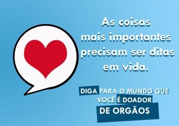 Ação do gabinete do vereador Júlio Galperim mostrará importância da doação de órgãos e tecidos