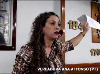 Ana Affosno afirma que tentativa de destituir a Mesa Diretora e fazer novas eleições é um golpe semelhante ao do PMDB de Michel Temer