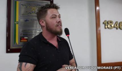 Dudu Moraes critica Governo Sartori por não repassar R$ 1,2 milhão para São Leopoldo