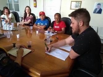 Dudu Moraes realiza reunião para discutir tema das pessoas em situação de rua