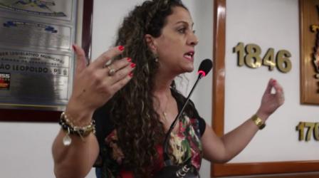 Ana Affonso fala sobre a importância dos vereadores respeitarem a democracia