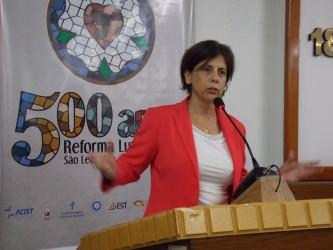 Iara Cardoso preocupada com a educação alimentar e o combate a obesidade