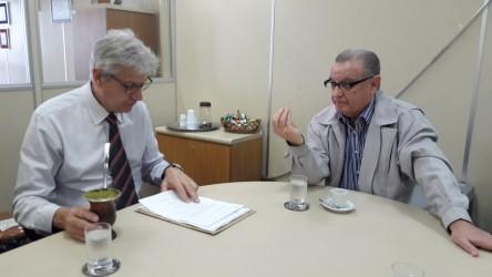 Galperim volta a se reunir com Governo do Estado para tratar sobre o Hospital Centenário