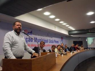 Vereador Ary Moura participa da convenção municipal do PDT em Porto Alegre