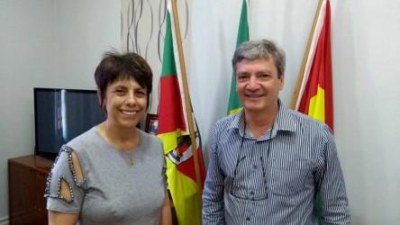 Vereadora Iara Cardoso faz visita ao prefeito de Portão
