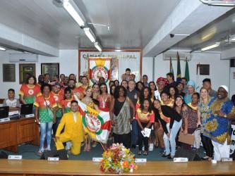 Fabiano realiza sessão solene do Dia da Consciência Negra