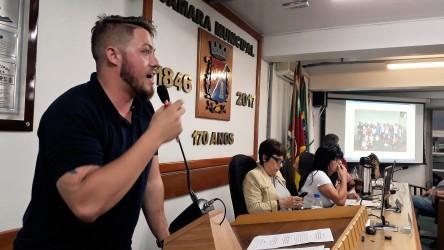 Dudu Moraes fala sobre a importância dos projetos como a tarifa social que beneficia a população mais pobre de São Leopoldo