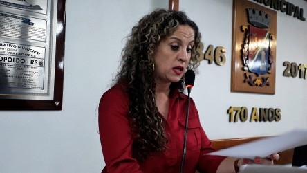 Ana Affonso fala sobre as mudanças em relação à possibilidade dos vereadores apresentarem emendas ao orçamento do município