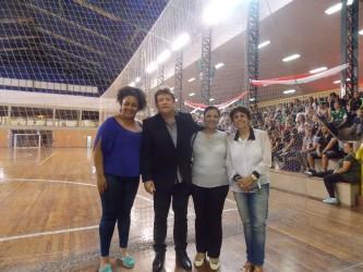 Vereadores do PDT prestigiam final da Liga Leopoldense de Futsal Amador