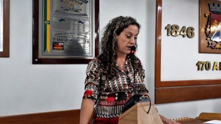 Ana Affonso afirma que Governo Sartori prejudica São Leopoldo ao partidarizar os repasses de verbas para o Hospital Centenário