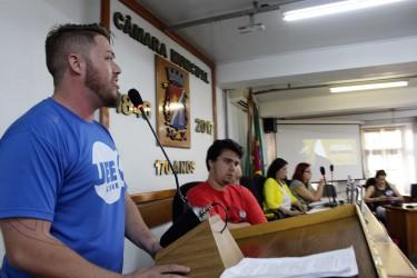 Dudu Moraes elogia as discussões e os debates durante a Audiência Pública sobre o projeto Escola Sem Partido