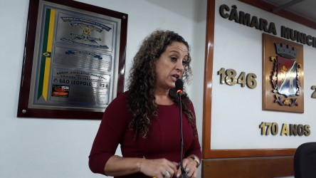 Ana Affonso elogia atuação da vereadora Cigana como presidenta da Câmara em 2017 e parabeniza nova Mesa Diretora da Casa