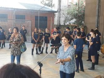 Vereadora Iara Cardoso participa de inauguração de espaço de lazer da Gusmão Brito