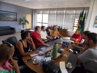 Cultura é pauta de reunião do vereador Ary Moura com o prefeito Ary Vanazzi