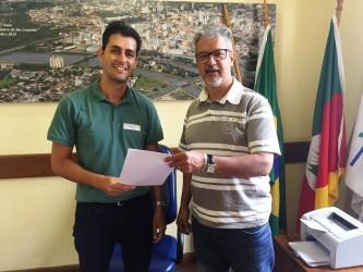 Motta recebe secretário municipal de proteção animal