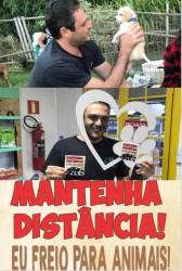 Marcelo Buz na campanha de proteção aos animais
