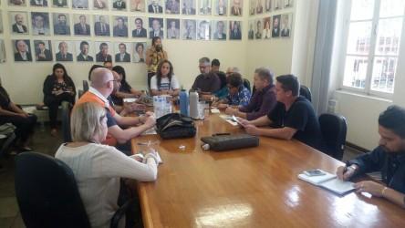 Fabiano participa de reunião do Comitê Popular em Defesa do Hospital Centenário
