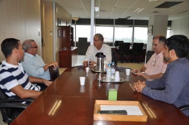 Presidente da Trensurb garante a Galperim instalação de novas escadas rolantes em São Leopoldo