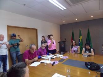 Vereadora Iara Cardoso participa do lançamento do mutirão de cirurgias