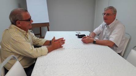 Galperim faz visita de cortesia ao novo Presidente da ACIST