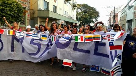 8M em São Leopoldo foi de luta pela liberdade, de combate à violência e pelo empoderamento das mulheres