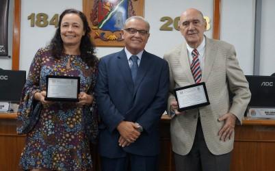 Galperim homenageia Mário Alberto Gusmão e Ruy Carlos Ostermann