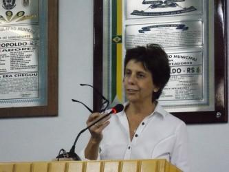 Iara Cardoso representará a Câmara leopoldense no Comitesinos
