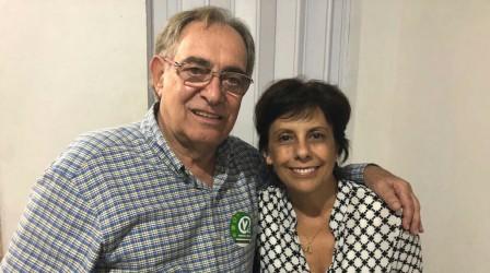 Iara Cardoso discute política de estado com candidato a vice-governador Cláudio Bier