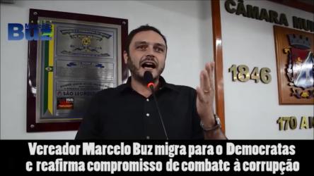 Marcelo Buz filia-se no Democratas