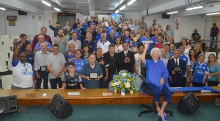Aniversário do Clube Esportivo Aimoré é celebrado em sessão solene