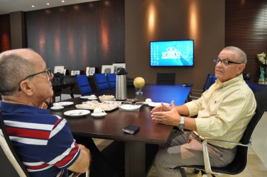 Diretor confirma à Galperim que São Leopoldo está no plano de expansão das Lojas Havan