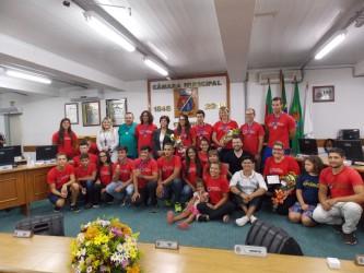 Iara Cardoso destaca projeto canoagem de São Leopoldo em sessão solene