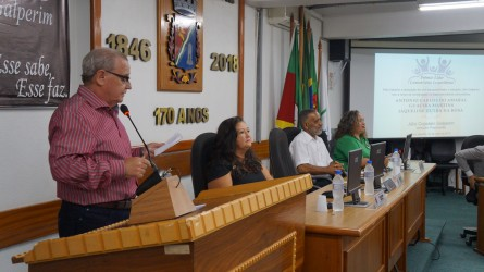 Vereador Júlio Galperim - Prêmio Líder Comunitário