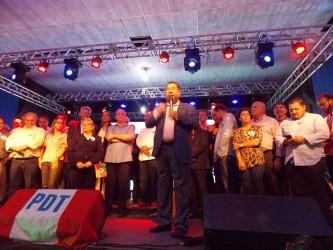 PDT leopoldense prestigia aniversário do pré-candidato a governador Jairo Jorge