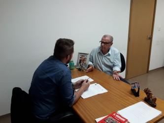 Galperim encaminha criação do cadastro de desaparecidos em reunião com secretário Dudu Moraes