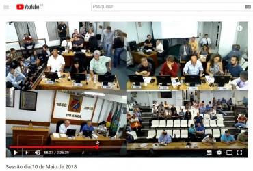 Nova câmera é instalada no plenário