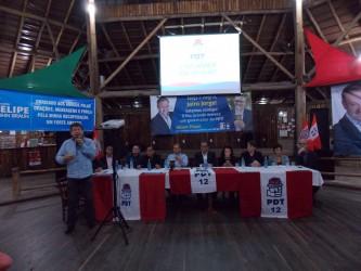 Vereadores participam da reunião da coordenadoria do PDT em Novo Hamburgo