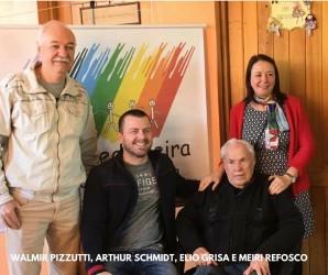 Arthur Schmdit participa da festa junina do Centro Medianeira