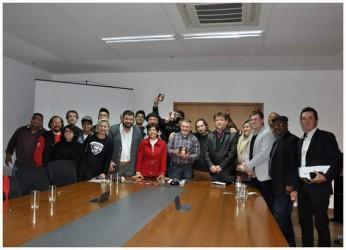 Vereadores participam do lançamento do primeiro CD Grito dos Músicos